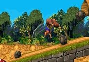Monkey Stunt Run Jeux