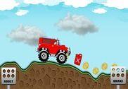 Monstre 3D jeep course Jeux
