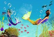 Mermaid princesse salon mondia Jeux