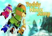 Teddy Ninja Jump Jeux