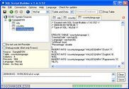 SQL Script Builder Bureautique