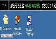 Stock Ticker Application Bar Finances & Entreprise