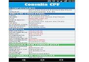 Consultar CPF Dívidas Finances & Entreprise