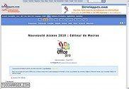 Nouveauté Access 2010 : Editeur de Macros Informatique