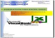 VBA Excel 2003 Informatique