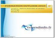Fonctions avancées Outlook 2010 Informatique