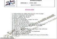 Word 2000 Informatique