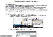 Cours pratique - Ms Access Informatique