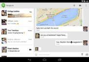 Hangouts pour Android Internet