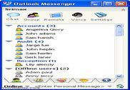 Outlook Messenger Internet