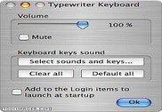 Typewriter Keyboard Utilitaires