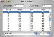 ASCII Viewer Utilitaires