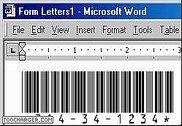Free Barcode Font Code 39 TrueType Bureautique