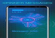 Spinner Messages Pro Internet