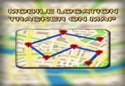 Mobile Location Tracker on Map Internet