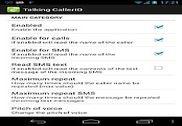 Talking Caller ID Talking SMS Internet