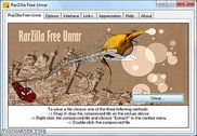 RarZilla Free Unrar Utilitaires