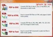 PDF to X Utilitaires