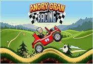 Angry Gran jeu de course Jeux