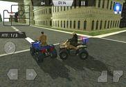 Quad police simulateur 4x4 3D Jeux
