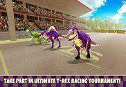 Jurassic Dinosaur T-Rex Race Jeux