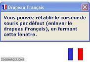 Drapeau Francais Personnalisation de l'ordinateur