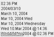 @1 Last Modified Date  CGI & Perl