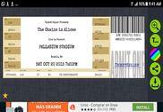 Fake Concert Ticket Generator & Ticket Maker Maison et Loisirs