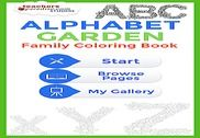 Adult Coloring Books: Alphabet Maison et Loisirs