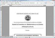 Contexte Economique mondial cours MSG1 IFACE Droit et économie