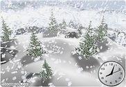 Snow Dance 3D Screensaver Personnalisation de l'ordinateur