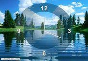 Lake Clock Screensaver Personnalisation de l'ordinateur