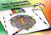 Animal Mandala Coloring Book Jeux