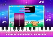 Magic Pink Tiles: Piano Game Jeux
