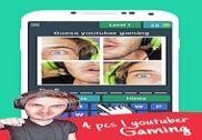 4 photos 1 youtuber gaming Jeux