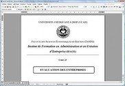 Evaluation d'entreprise MSG1-IFACE 2006/2007