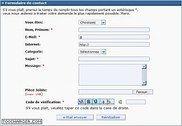 Formulaire de contact PHP