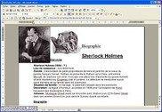 Biographie Sherlock Holmes Lettres et sciences sociales