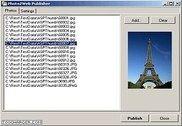 Photo2Web Publisher Internet