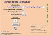 GESTION_CONGES Finances & Entreprise