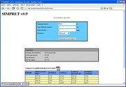 SimPret PHP