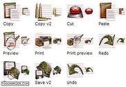 Military Icon Set Personnalisation de l'ordinateur