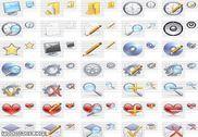 Realistic Icons Collection Personnalisation de l'ordinateur