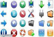 Pack Icones 3D Personnalisation de l'ordinateur