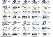 Music Icon Set Personnalisation de l'ordinateur