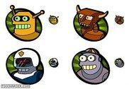 Futurama Vol. 4 - The Robots Personnalisation de l'ordinateur