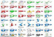 Professional Toolbar Icons Personnalisation de l'ordinateur