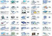 Hardwarel Icon Set Personnalisation de l'ordinateur