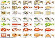 Fire Toolbar Icons Personnalisation de l'ordinateur
