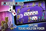 Poker World - Offline Texas Holdem Jeux